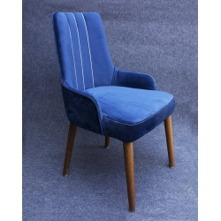 Blue Radian Chair