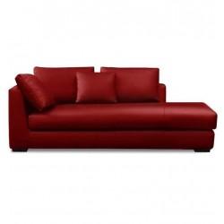 Platinum Red Divan Sofa