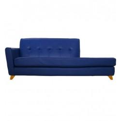 Platinum Blue Divan Sofa 2