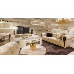 Cara-Linen Sofa