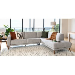 Arana Cream Coloured 1-2-3 Seater Sofa