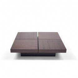 Century Modern Square Center Table